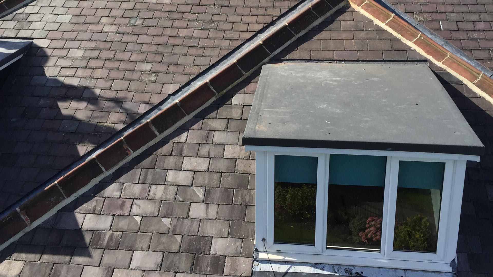 Flat roofing work is able to be carried out by our team