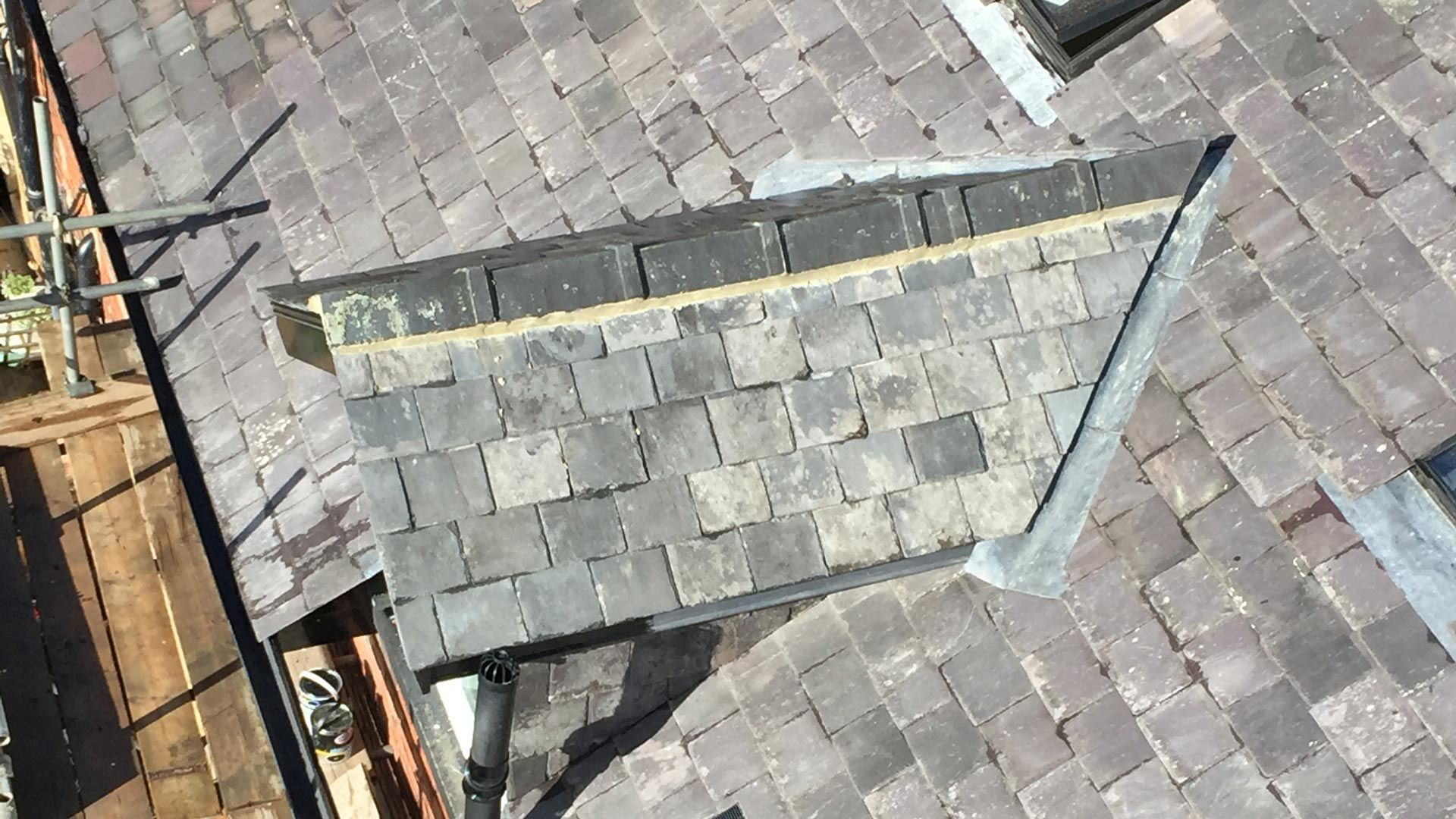 Small roofing jobs are able to be done by our team